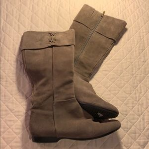 ENZO Angolini Boots Taupe size 9.5